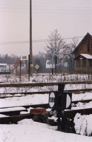 The railway at Sobibor.