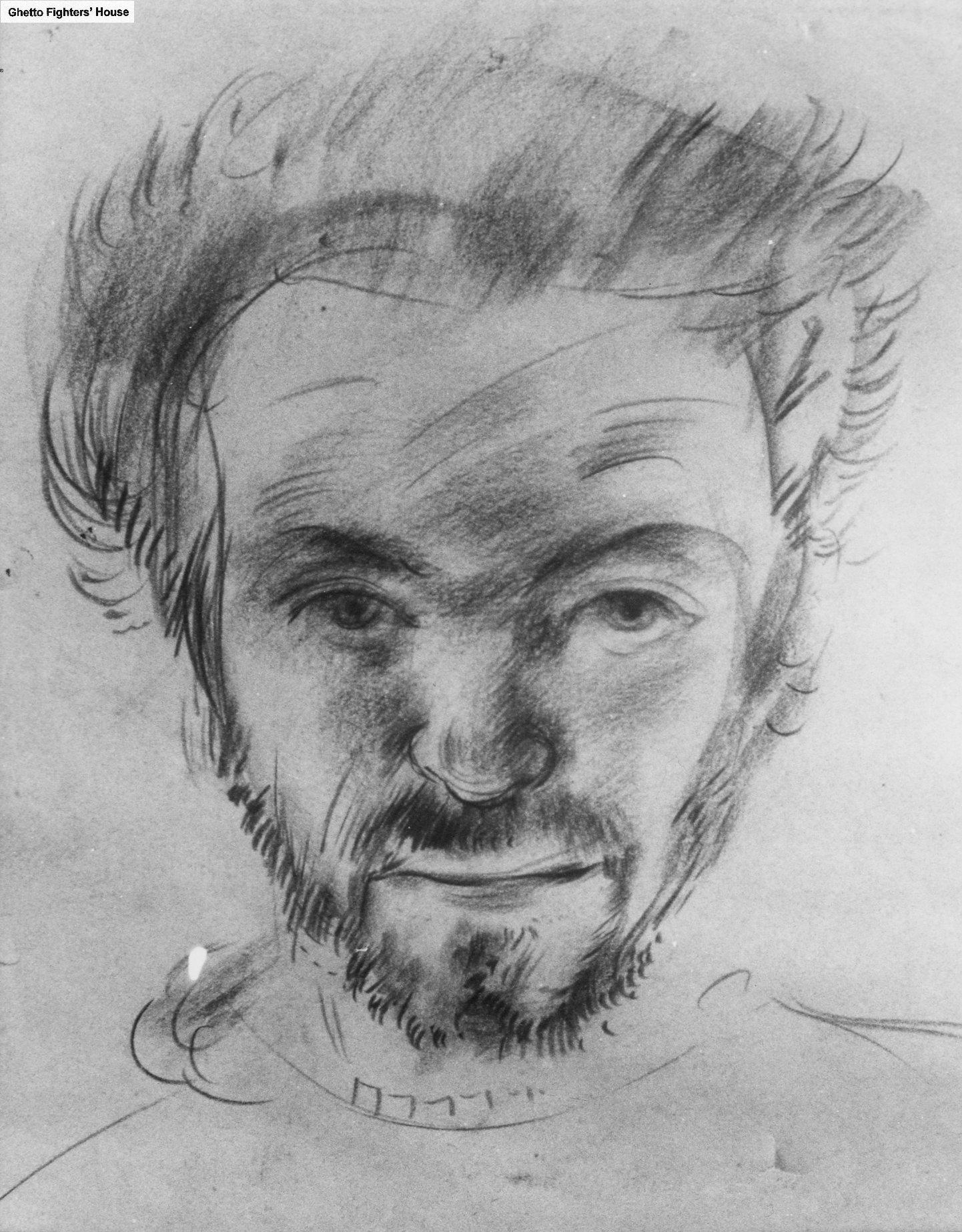 Zelfportret Max van Dam